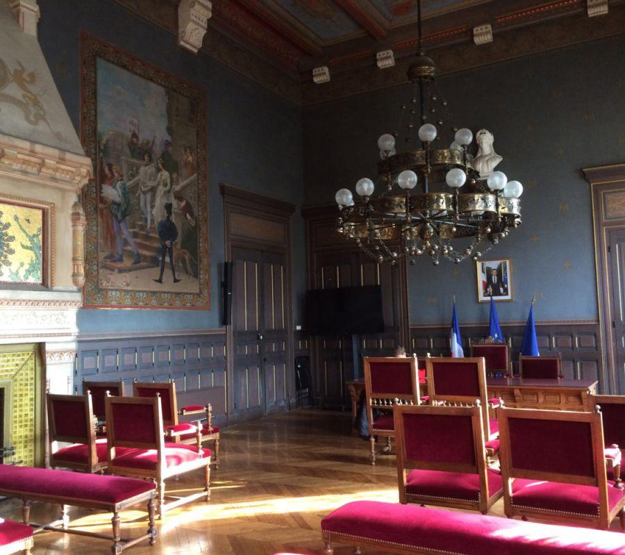 salons d'apparats de l'Hotel de Ville de Valence