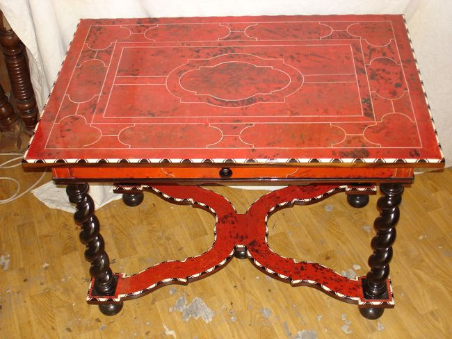 Table Ecaille tortue, Luc Vaganay