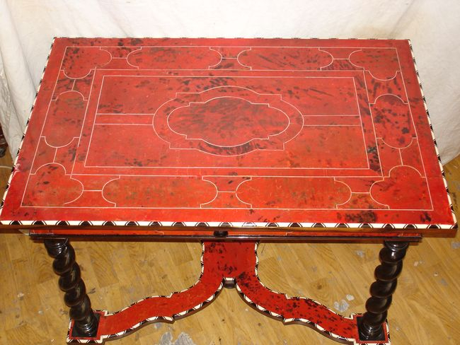 TAble Ecaille Tortue - Atelier Luc Vaganay