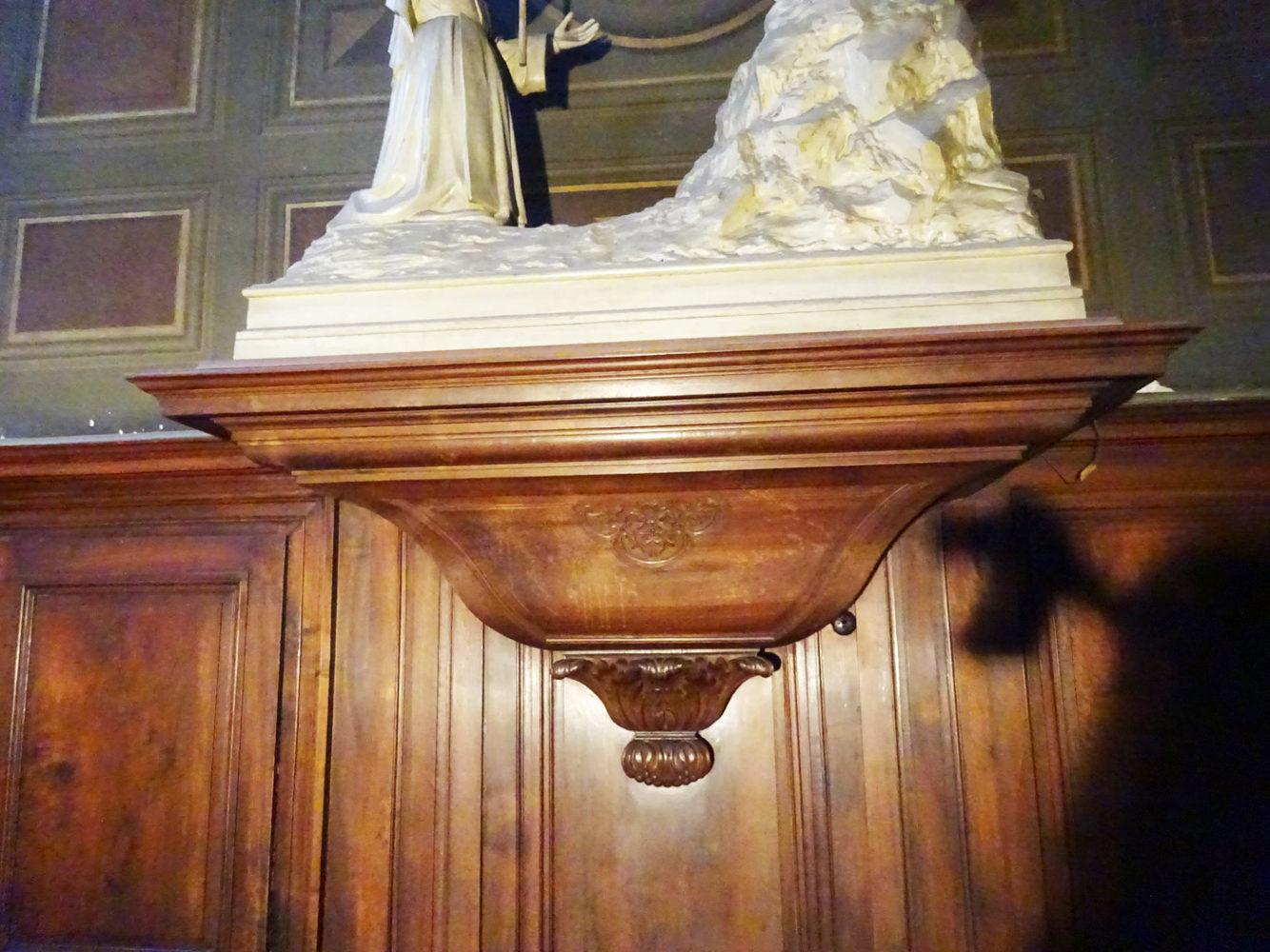 Détail Chapelle Notre Dame de Pitié