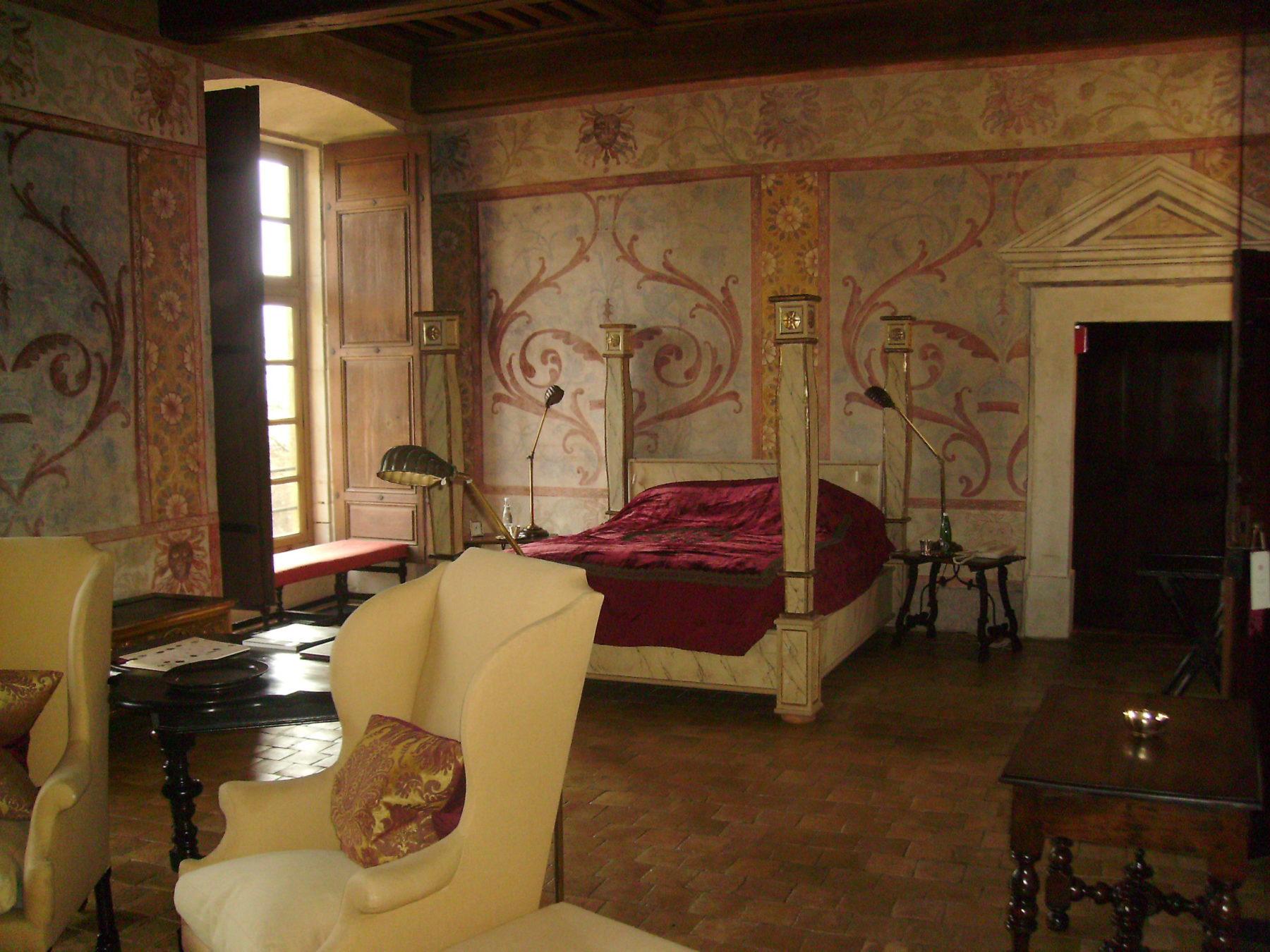 Bagnols - Suite chambre Rouge