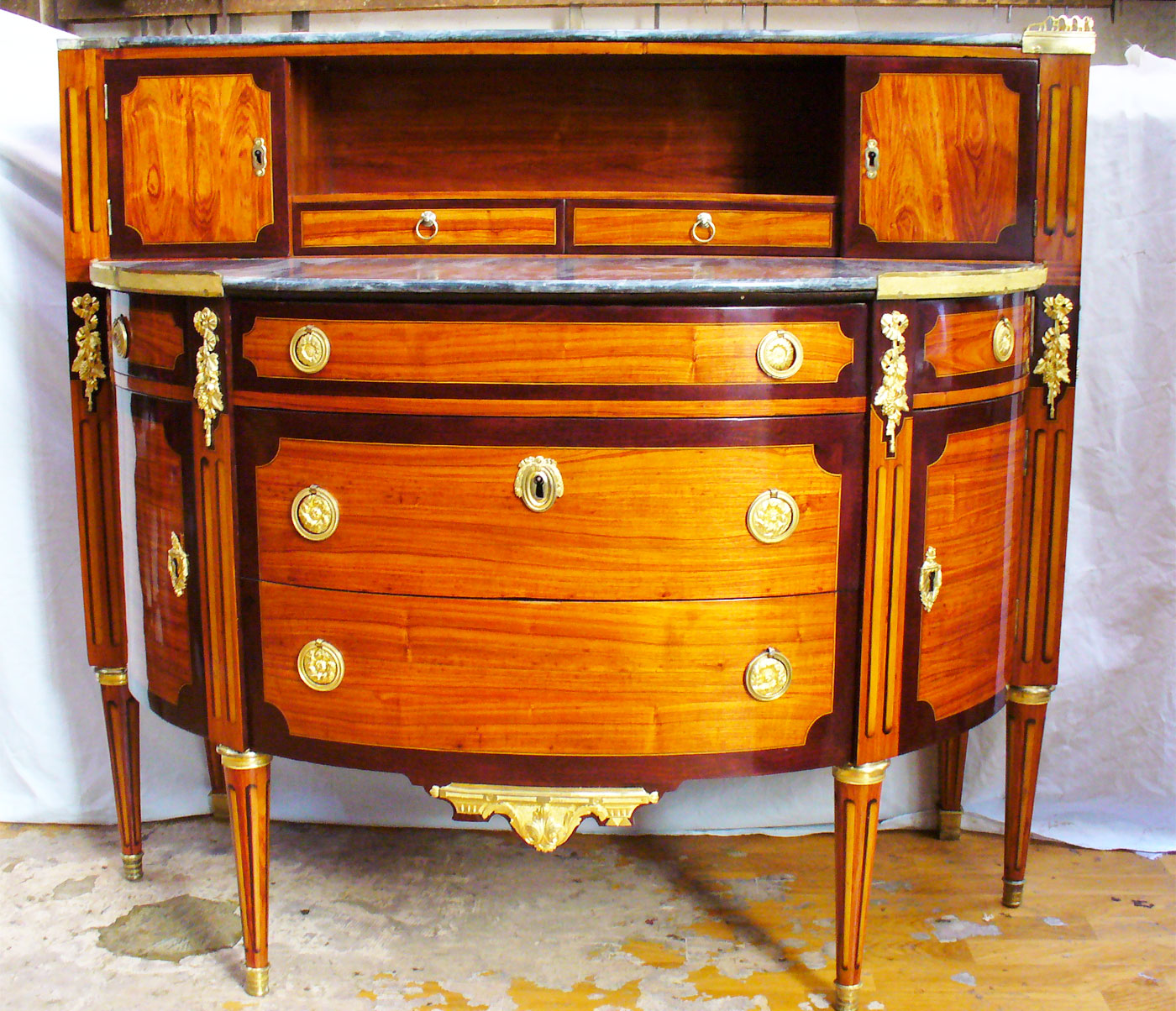 Commode Louis XVI - Luc Vaganay