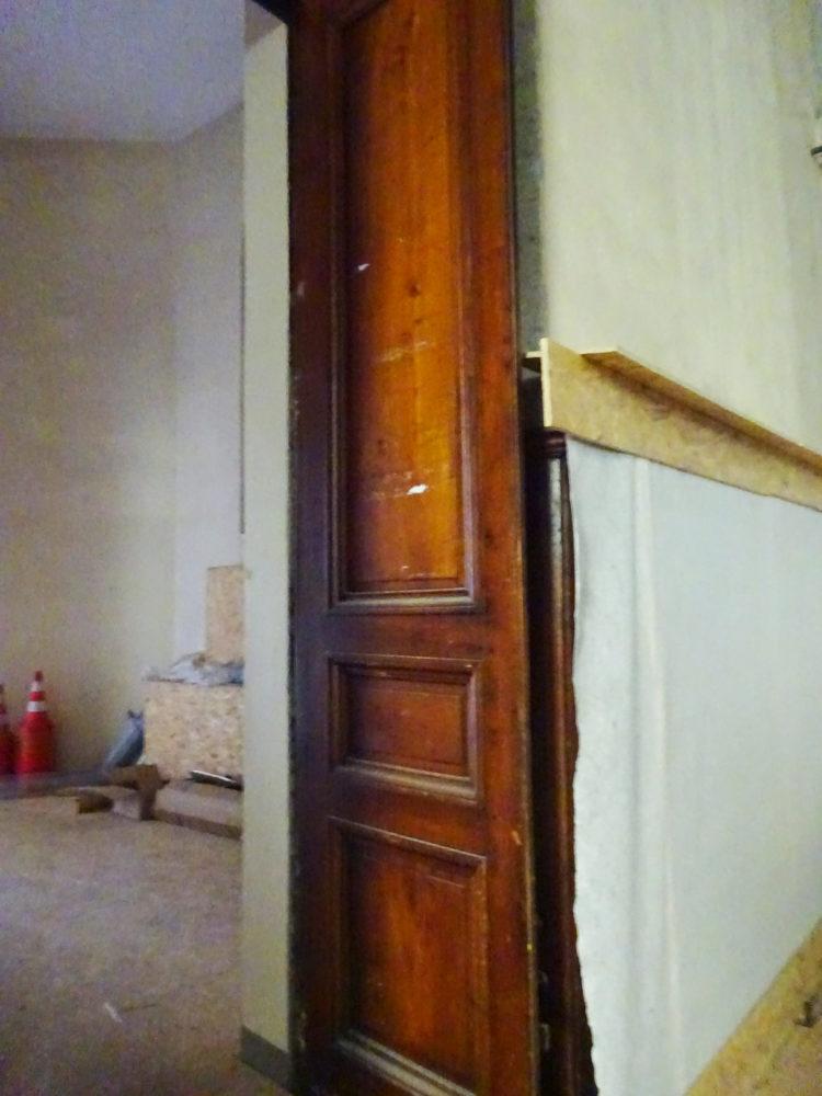 Détail Porte Réfectoire Hôtel-dieu Lyon
