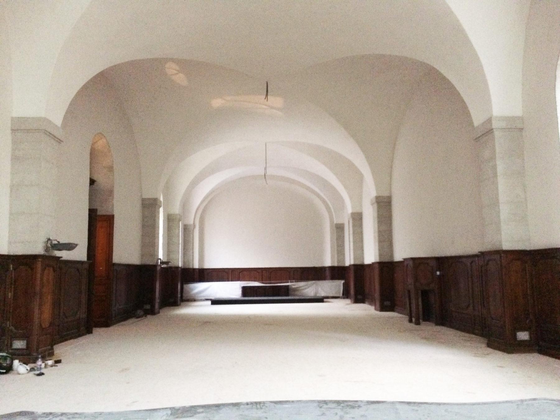 Vue Finale Réfectoire - Hôtel- Dieu