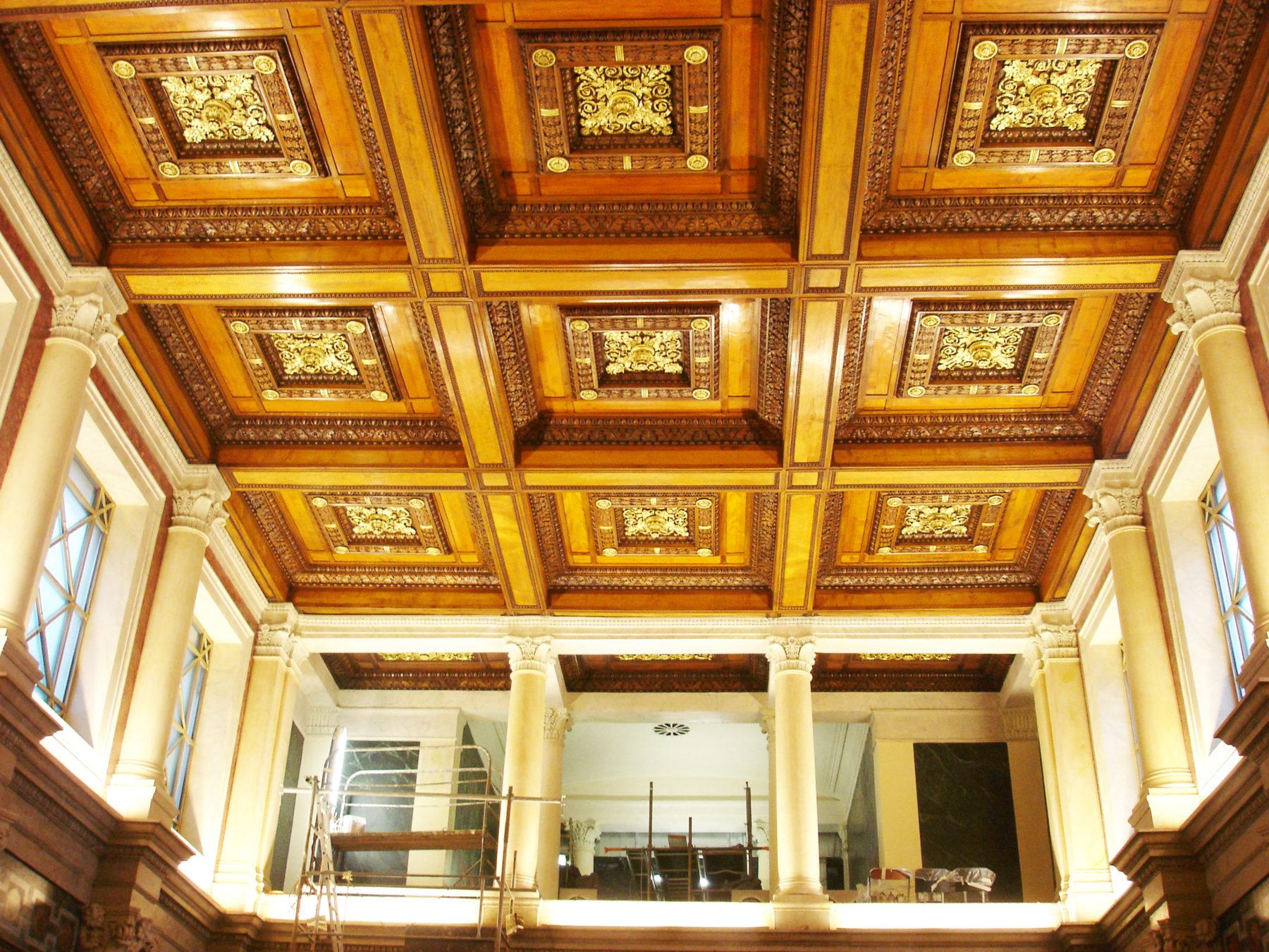 Plafond du Palais de Justice Lyon