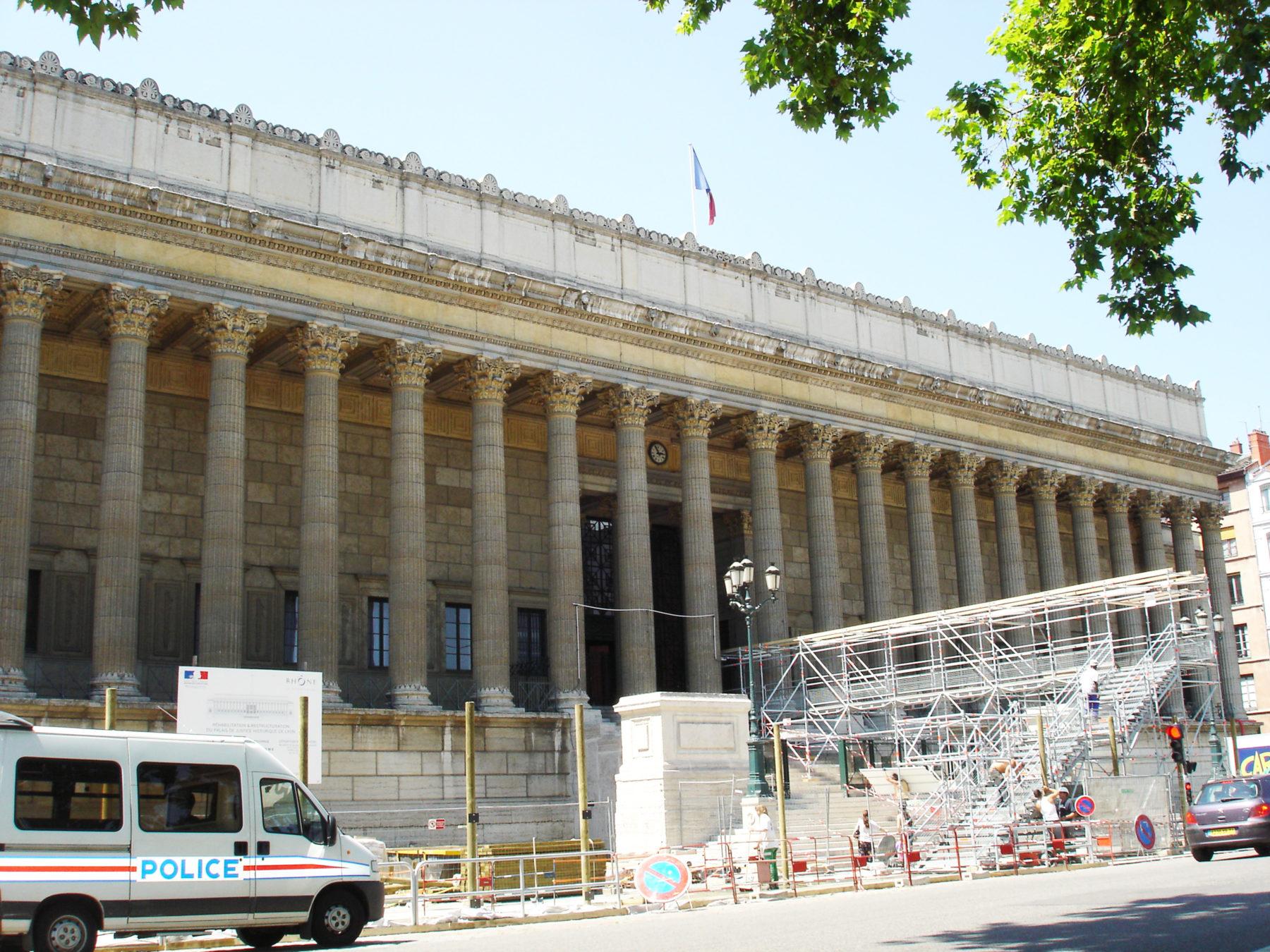 Palais de Justice Lyon - Extérieur