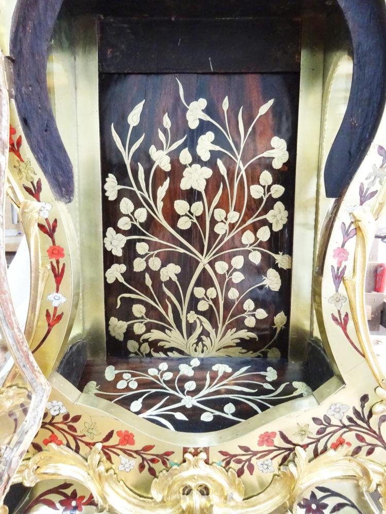 Restauration  Cartel style Louis XV - Atelier Luc Vaganay