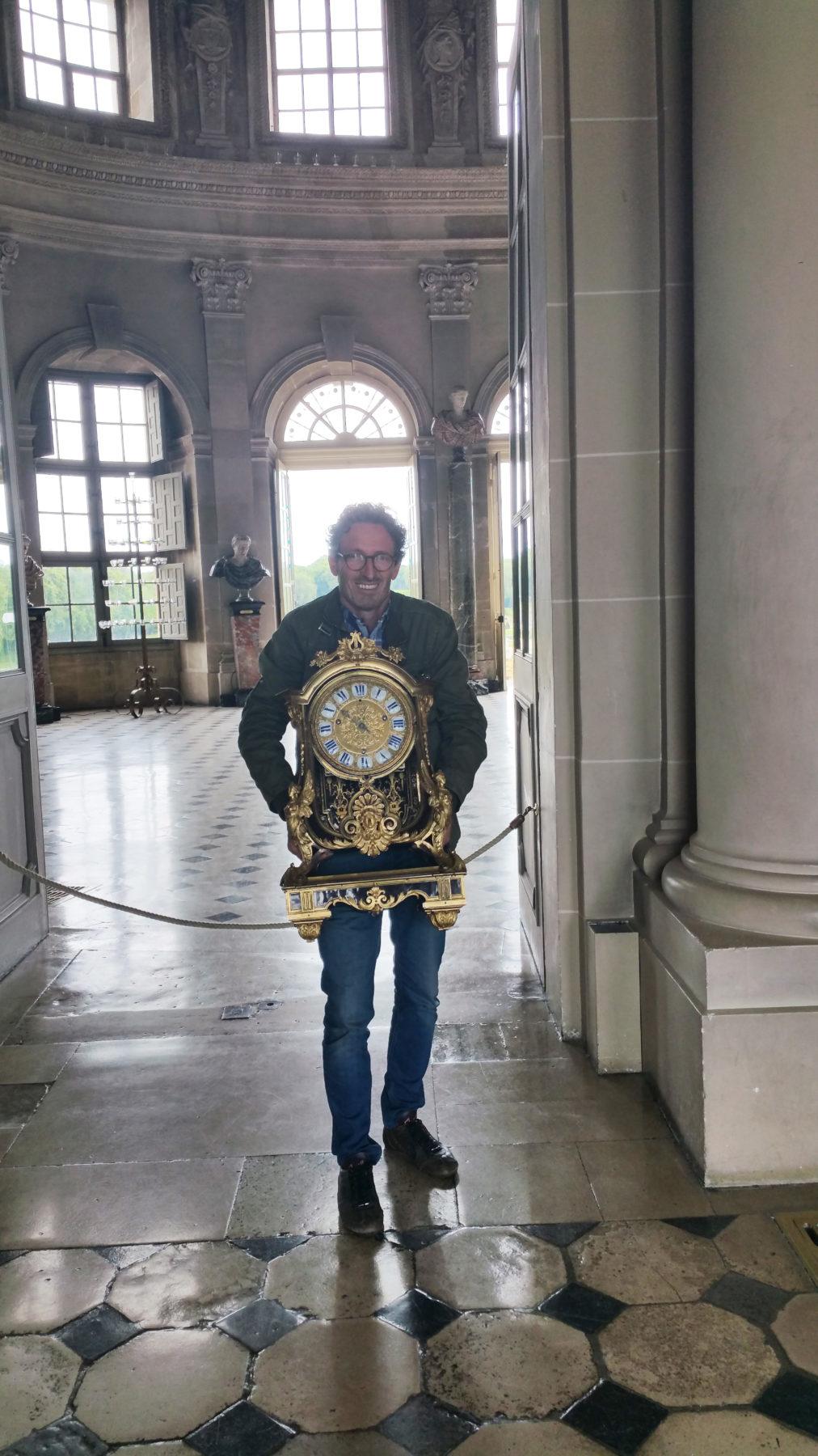 Vaux-le vicomte - Luc Vaganay -Restauration pendule et Cartels