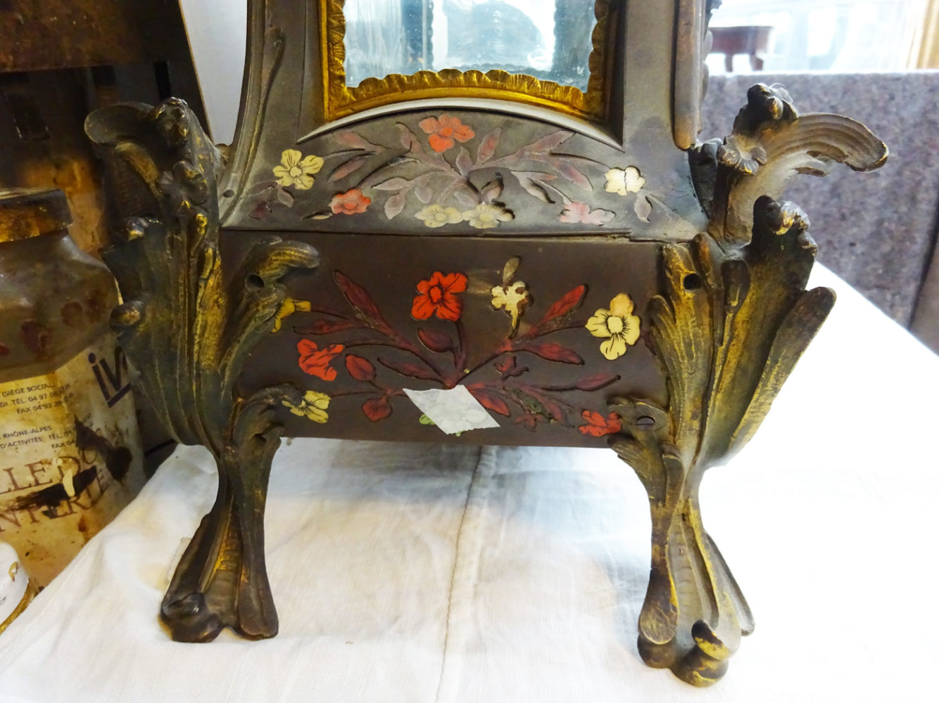 Pied Socle  Cartel style Louis XV - Atelier Luc Vaganay