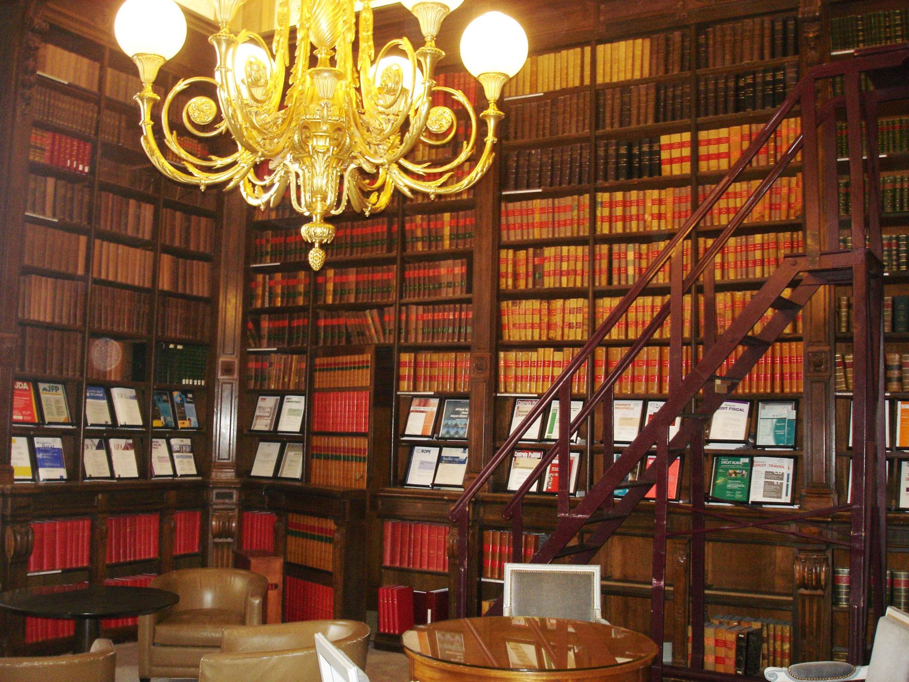 Bibliothèque Palais de Justice- Lyon