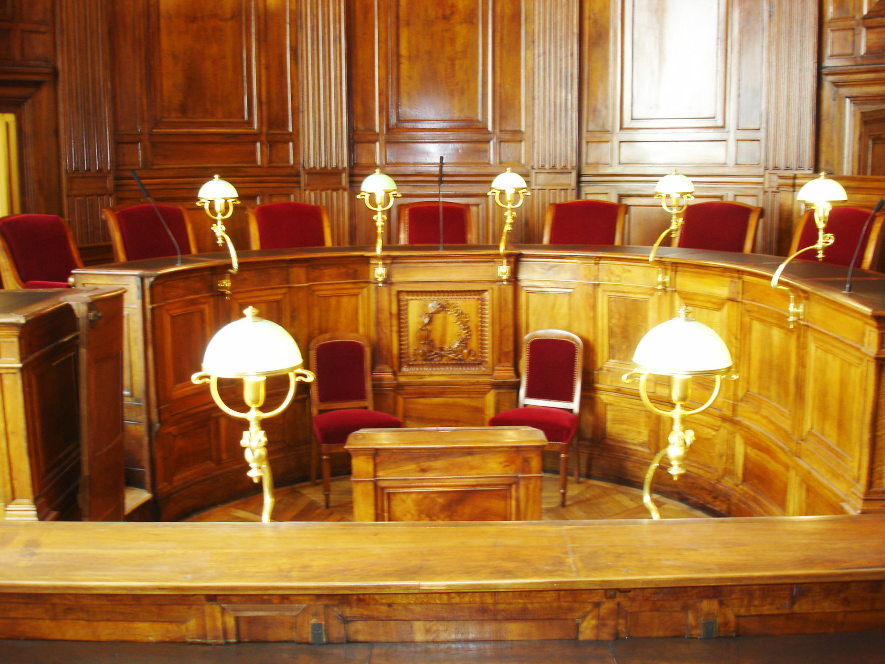 Salle Palais de Justice - Lyon