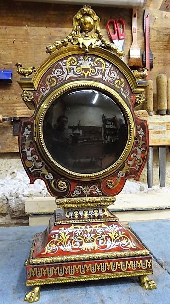 Pendule Cabinet de la Fontaine - Atelier Luc Vaganay