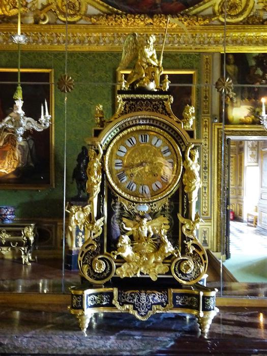 Le Cartel dans la chambre du Roi à Vaux le Vicomte