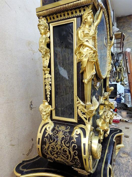 Autre détail Cartel chambre du Roi - Vaux le vicomte