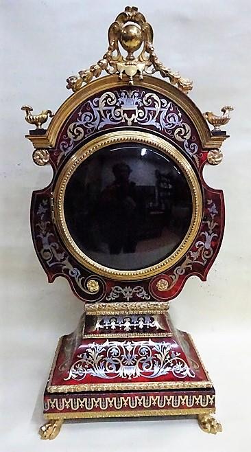 Final  Pendule Cabinet de la Fontaine - Atelier Luc Vaganay